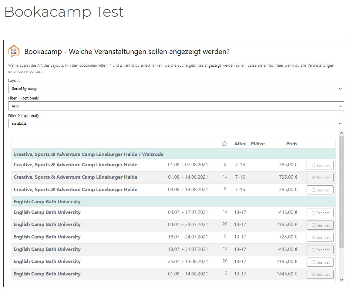 screenshot wordpress camps preview